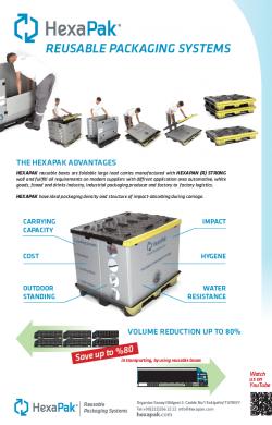 hexapak reusable packaging systems EN